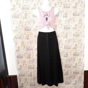 Maxi buttons down skirt size SP